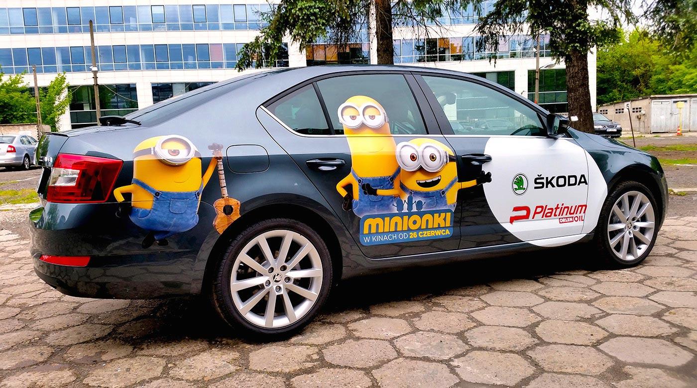 Oklejanie samochodu